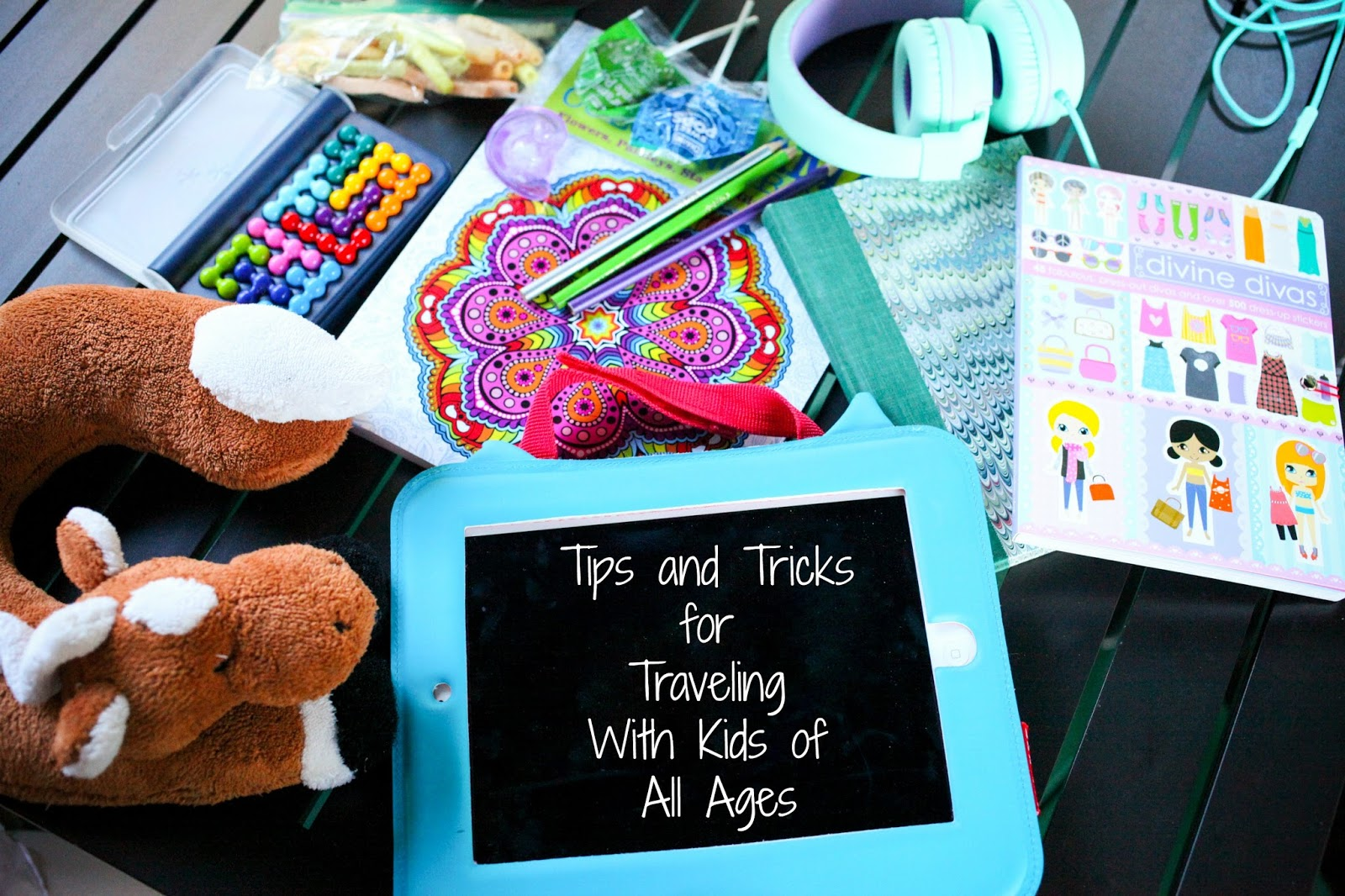 Preparing for traveling with kids, a few items you will need