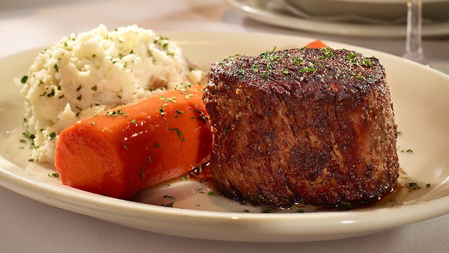 filet from Bob's Steak and Chop House