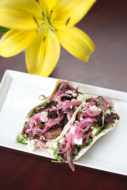 Braised Lamb Tacos at Eleven South Bistro and Bar in Jax Beach