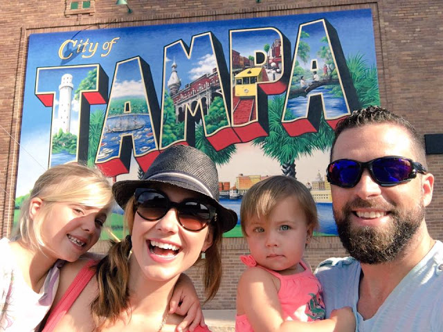 Amy West and family in Tampa